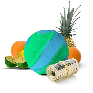 Jamaican Me Crazy Cash Bath Bomb