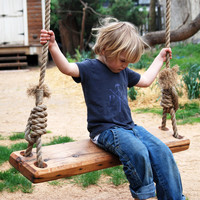 Repurposed Tree Swing