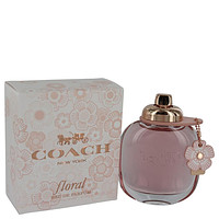 Coach Floral by Coach Eau De Parfum Spray 3 oz (Women)