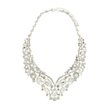 Liana Embellished Diamante Colar - Forever New