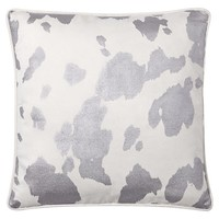 Junk Gypsy Metallic Cowhide Pillow Cover