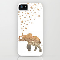 *** GATSBY GLITTER  ELEPHANT  *** iPhone & iPod Case by Monika Strigel for iphone 5c + 5s + 5 + 4s + 4 + 3gs + 3g + ipod + SAMSUNG GALAXY !