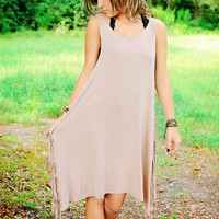 Fringe Addict Dress