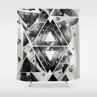 Interestelar Shower Curtain by Rui Faria