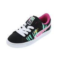 Puma Girls Chemical Comic Suede Casual Shoes