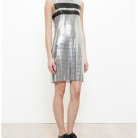 PACO RABANNE | Chainmail Mini Dress | brownsfashion.com | The Finest Edit of Luxury Fashion | Clothes, Shoes, Bags and Accessories for Men & Women