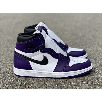 Air Jordan 1 Court Purple 555088-500
