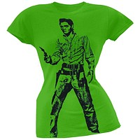Elvis Presley - Standoff Juniors Subway T-Shirt