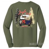 Monogrammed Jingle All The Way T-Shirt | Marleylilly