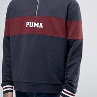 Puma Retro Hoodie In Navy Exclusive To ASOS 57531001 at asos.com