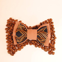 30 USD OFF - Any 3 bowties for the price of 2! Brown navy blue bowtie Men's bow tie Gift idea men Boyfriend gift Gift for him Free shipping