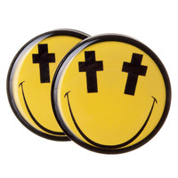 Cross Eyed BMA Plugs (2.5mm-60mm)