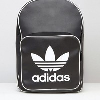 adidas Originals Retro Backpack In Black BK2108 at asos.com