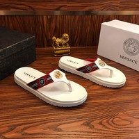 Versace  Sandals White/red  - Best Online Sale
