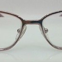 NEW AUTHENTIC FENDI F822R COL 664 ROSE METAL EYEGLASSES FRAME 52-15-130 S