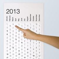Bubblewrap Calendar 2013 - buy at Firebox.com