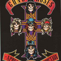 Guns N' Roses Appetite for Destruction Poster 22x34