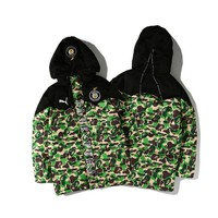 AAPE BAPE x PUMA Camouflage Cotton Coat Hooded Jacket M ~ 3XL