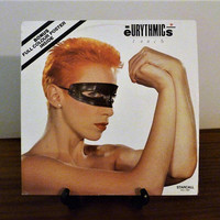 Vintage 1984 Eurythmics: Touch Vinyl LP Record Album Released by Starcall Records / Bonus Original Poster / Excellent Condition