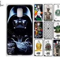 Star Wars Maul BOBA FETT Case for Samsung Galaxy S4/5/6/7 S6/7 edge plus TPUPC Yoda Phone Cover for Galaxy Note 3/4/5 Case