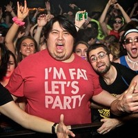 I'M FAT, LET'S PARTY Adult Unisex T-shirt