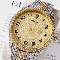 Rolex new full diamond British watch