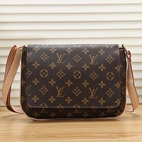 Best Gifts Louis Vuitton LV Women Leather Fashion Shoulder Bag Crossbody Satchel