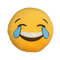 iPhone Emoji Pillow - Tears of Joy / LOL / Laughing | FREE FAST Shipping from USA | +FREE GIFT!
