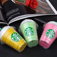 Starbucks power bank 5200mAh portable charger For Samsung and iphone 5 5S 6 iPhone6