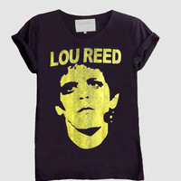 Lou Reed Fine Jersey Unisex T-Shirt