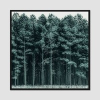 Minted for west elm - Through The Trees