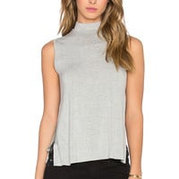 Clayton Andy Top in Heather Grey