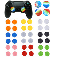 4x Silicone Analog Controller Thumb Stick Grips Cap Cover for Sony Play Station PlayStation 4 PS4 Xbox One FC Game Accessories