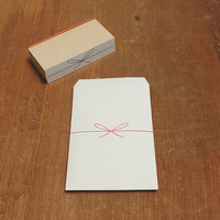 Bowknot Rubber Stamp by mizushima nombre