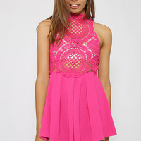 Mystery Love Playsuit - Pink