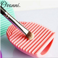 6 Colors Makeup Brush Cleaner Finger Silicone Glove Cosmetic Cleaning Tool Washing Brush Gel Cleaner Brushegg