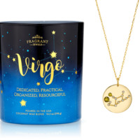 Virgo - Zodiac Collection - Jewel Candle With a Ring and a Chance to Win a $10k Ring