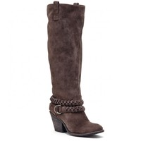 Sole Society Vera Suede Knee High Boot