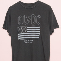 ACDC Back In Black Tee - Band Tees - Graphics