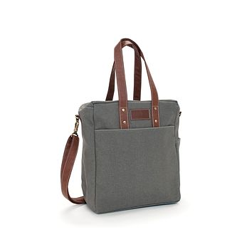 Commuter Tote - Waxed Ash