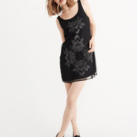 EMBROIDERED PARTY DRESS