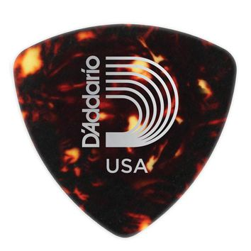 D'Addario Classic Celluloid Wide in Shell-Color, 10 Pack