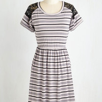 Mid-length Short Sleeves A-line Haute Hobbyist Dress by ModCloth