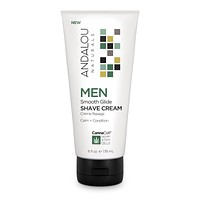 Andalou Naturals Shave Cream, Men, Smooth - 6 Fz