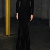 Alex Long Sleeve Gown | Moda Operandi
