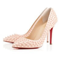 PIGALLE SPIKES VERNIS,POUDRE,VERNIS,Louboutin,Souliers Femme