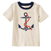 Atlantic Skipper Anchor Tee