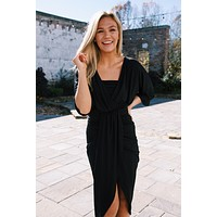 Take Me To Miami Maxi Dress, Black