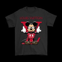HCXX Louis Vuitton Disney Mickey Mouse Shirts