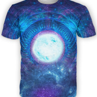 Celestial Galaxy universe astrology psychedelic shirt Alterception, 10% off coupon code: 030609
